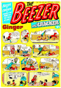 Cover Thumbnail for The Beezer and Cracker (D.C. Thomson, 1976 series) #1122