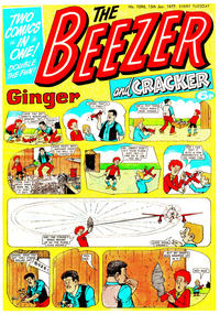 Cover Thumbnail for The Beezer and Cracker (D.C. Thomson, 1976 series) #1096
