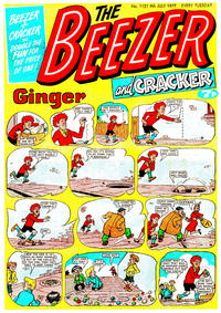 Cover Thumbnail for The Beezer and Cracker (D.C. Thomson, 1976 series) #1121
