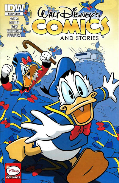 Cover for Walt Disney's Comics and Stories (IDW, 2015 series) #725 [Subscription Variant]