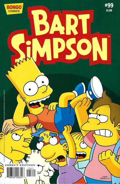 Cover for Simpsons Comics Presents Bart Simpson (Bongo, 2000 series) #99