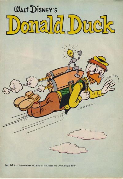 Cover for Donald Duck (Oberon, 1972 series) #46/1972