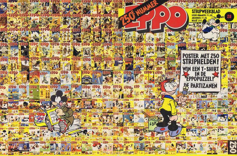 Cover for Eppo (Oberon, 1975 series) #28/1980