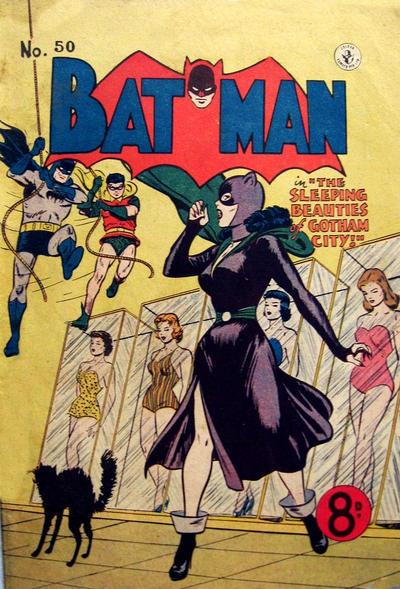 Cover for Batman (K. G. Murray, 1950 series) #50