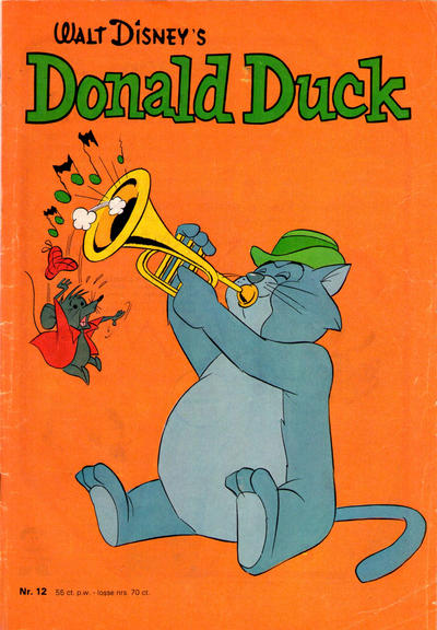 Cover for Donald Duck (Oberon, 1972 series) #12/1973