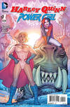 Cover for Harley Quinn and Power Girl (DC, 2015 series) #1