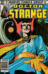 Cover for Doctor Strange (Marvel, 1974 series) #56 [Newsstand Edition]