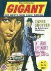 Cover for Gigant (Serieforlaget / Se-Bladene / Stabenfeldt, 1966 series) #2/1967