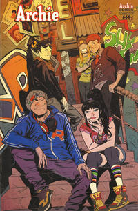 Cover Thumbnail for Archie (Archie, 1959 series) #665 [Sanford Greene Variant Cover]