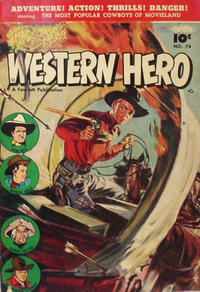 Cover Thumbnail for Western Hero (Anglo-American Publishing Company Limited, 1949 series) #74
