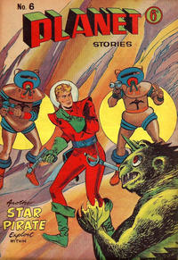 Cover Thumbnail for Planet Stories (Atlas Publishing, 1961 series) #6