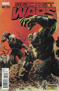 Cover Thumbnail for Secret Wars (Marvel, 2015 series) #1 [Wizard World Comic Con Box Exclusive Color Variant - Mike Deodato]