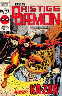 Cover Thumbnail for Dæmonen (Interpresse, 1984 series) #1