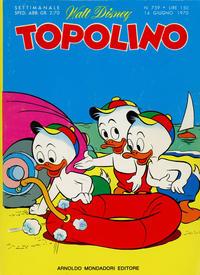 Cover Thumbnail for Topolino (Arnoldo Mondadori Editore, 1949 series) #759