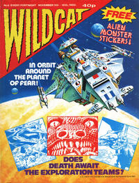 Cover Thumbnail for Wildcat (Fleetway Publications, 1988 series) #2