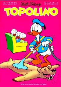 Cover Thumbnail for Topolino (Arnoldo Mondadori Editore, 1949 series) #773