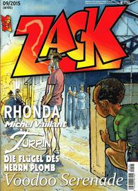 Cover Thumbnail for Zack (Mosaik Steinchen für Steinchen Verlag, 1999 series) #9/2015 (#195)