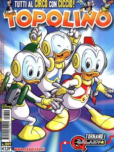 Cover for Topolino (The Walt Disney Company Italia, 1988 series) #2809