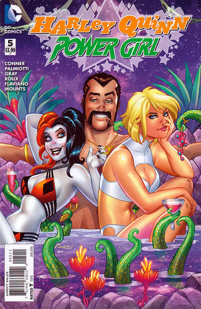 Cover for Harley Quinn and Power Girl (DC, 2015 series) #5