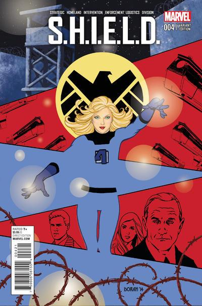 Cover for S.H.I.E.L.D. (Marvel, 2015 series) #4