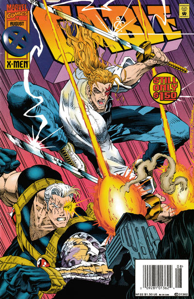 Cover for Cable (Marvel, 1993 series) #22 [Regular Newsstand Edition]