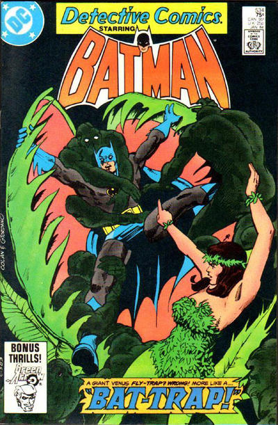 Cover for Detective Comics (DC, 1937 series) #534 [Direct-Sales]