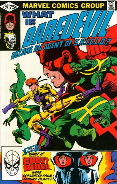 Cover for What If? (Marvel, 1977 series) #28 [Direct Edition]