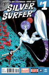 Cover for Silver Surfer (Marvel, 2014 series) #1 [2nd Printing]