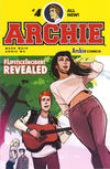 Cover for Archie (Archie, 2015 series) #4 [Cover A Annie Wu]