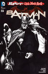 Cover for Batman (DC, 2011 series) #47 [Harley's Little Black Book Alex Ross Black & White Cover]