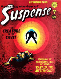 Cover Thumbnail for Amazing Stories of Suspense (Alan Class, 1963 series) #136