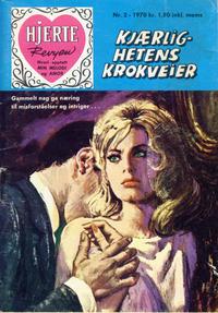 Cover Thumbnail for Hjerterevyen (Serieforlaget / Se-Bladene / Stabenfeldt, 1960 series) #2/1970