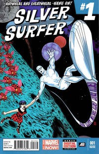 Cover Thumbnail for Silver Surfer (Marvel, 2014 series) #1 [2nd Printing]