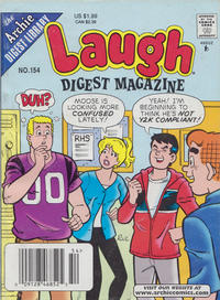 Cover Thumbnail for Laugh Comics Digest (Archie, 1974 series) #154 [Newsstand]