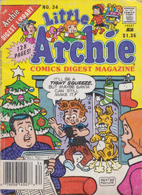 Cover Thumbnail for Little Archie Comics Digest Magazine (Archie, 1985 series) #34 [Newsstand]