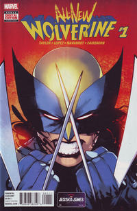 Cover Thumbnail for All-New Wolverine (Marvel, 2016 series) #1