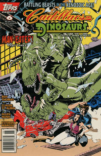 Cover Thumbnail for Cadillacs and Dinosaurs (Topps, 1994 series) #6 [Regular Edition]