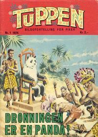 Cover Thumbnail for Tuppen (Serieforlaget / Se-Bladene / Stabenfeldt, 1969 series) #1/1974