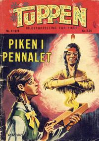 Cover Thumbnail for Tuppen (Serieforlaget / Se-Bladene / Stabenfeldt, 1969 series) #4/1974