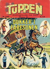 Cover Thumbnail for Tuppen (Serieforlaget / Se-Bladene / Stabenfeldt, 1969 series) #7/1974