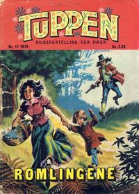 Cover Thumbnail for Tuppen (Serieforlaget / Se-Bladene / Stabenfeldt, 1969 series) #11/1974
