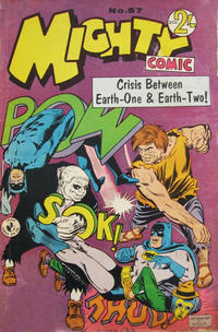 Cover Thumbnail for Mighty Comic (K. G. Murray, 1960 series) #57