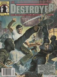 Cover Thumbnail for The Destroyer (Marvel, 1989 series) #3 [Newsstand]
