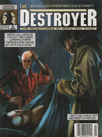 Cover Thumbnail for The Destroyer (Marvel, 1989 series) #6 [Newsstand]