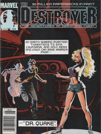 Cover Thumbnail for The Destroyer (Marvel, 1989 series) #9 [Newsstand]