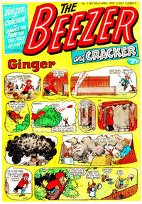 Cover Thumbnail for The Beezer and Cracker (D.C. Thomson, 1976 series) #1162
