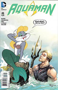 Cover Thumbnail for Aquaman (DC, 2011 series) #46 [Looney Tunes Cover]