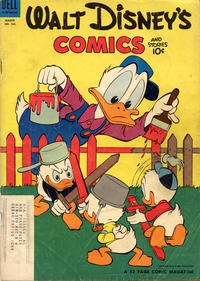 Cover Thumbnail for Walt Disney's Comics and Stories (Dell, 1940 series) #v14#6 (162) [Subscription Variant]