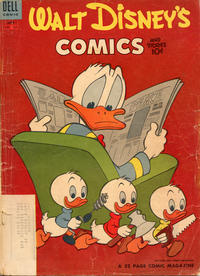 Cover Thumbnail for Walt Disney's Comics and Stories (Dell, 1940 series) #v14#9 (165) [Subscription Variant]