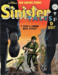 Cover Thumbnail for Sinister Tales (Alan Class, 1964 series) #6